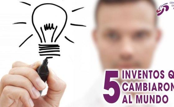 5 INVENTOS QUE CAMBIARON AL MUNDO